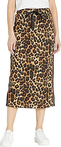 - Juicy Couture Women's Leopard Tricot Midi Skirt Multi Regent Leopard Small
