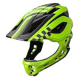 Kid Bike Full Face Helmet Children Riding Skateboard Safety Helmet Skating Rollerblading Longboard Sports tective…