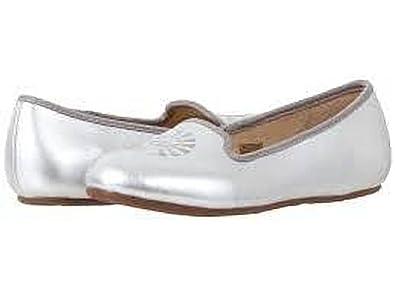 UGG Australia - Mocasines de Cuero para Mujer Plateado Plata 35.5: Amazon.es: Zapatos y complementos