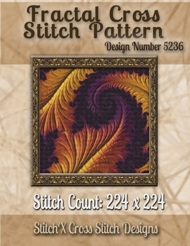 Read Online Fractal Cross Stitch Pattern: Design No. 5236 ebook