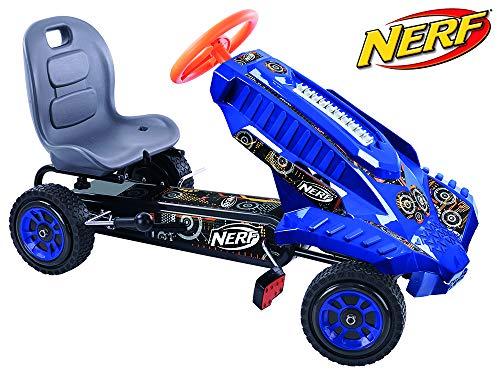 Hauck Nerf Striker Go Kart Ride On, Blue and Orange