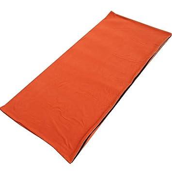 chagana Saco de Dormir 2 plazas portátil Ligero Mesa para Viaje Camping Senderismo Picnic Outdoor, Color Naranja, tamaño 180 * 75cm: Amazon.es: Deportes y ...