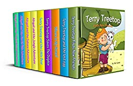 Kids book: The Terry Treetop Collection: Bedtime story- Beginner readers- Adventure - Animal stories-Teach Values Book-Funny-free story 3-8 (prime) Rhymes,Fantasy-Education-Animal ... Books for Early & Beginner Readers) by [Carmi, Tali]