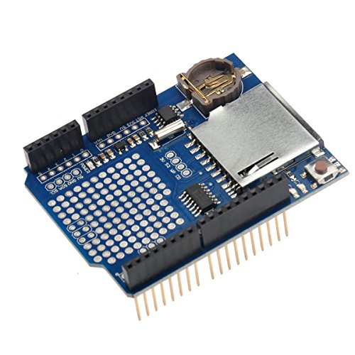 VORCOOL Data Logging Shield Recorder Data Logger Module V1.0 for Arduino UNO SD Card