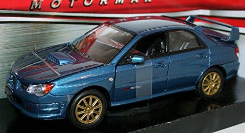 Subaru Impreza WRX STi Black 1/24 by Motormax 73330