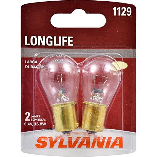 - SYLVANIA 1129 Long Life Miniature Bulb, (Contains 2 Bulbs)