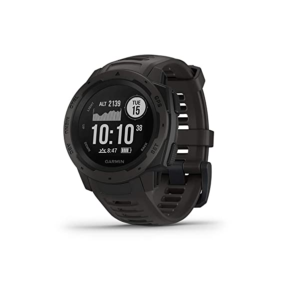 e8efe099d Amazon.com: Garmin Instinct, Rugged Outdoor Watch with GPS, Features ...