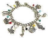 BlingSoul Little Mermaid Charm Bracelet