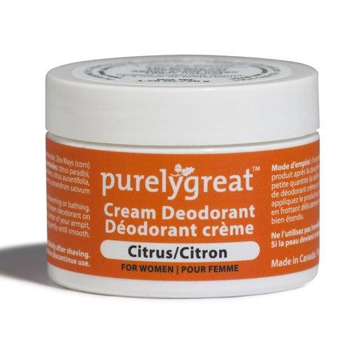Purelygreat Natural Deodorant Women Citrus