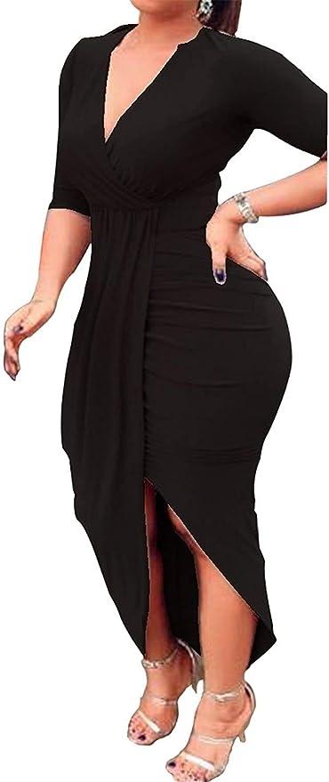 Asymmetric dress Blue Long Dress UrbanMood UM235VL Summer Dress Dress Woman dress Short sleeved,Party dress Maxi Dress