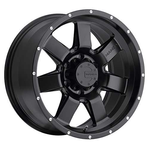 6 X 135 Wheels (Mamba M14 Matte Black Wheel (20x9