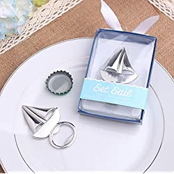 100pcs Sailboat Bottle Opener For Wedding Party Favor