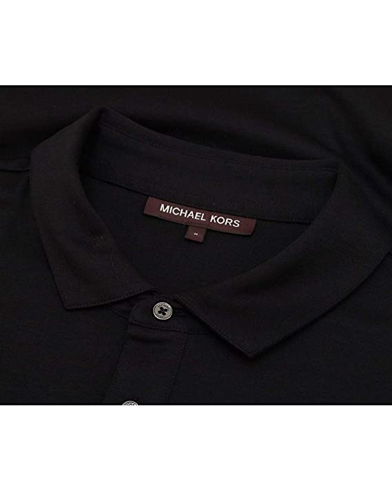 Michael Kors - Polo - para Hombre Negro Negro Medium: Amazon.es ...