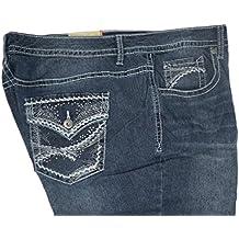 Faded Glory Women's Plus Midrise Straight Jean
