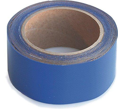 WUPSI Tarp Repair Tape Incredible Adhesive Strength Excellent Tensile Strength Blue Special Tape For Repairing Films And Tarps 5 Cm X 5 M