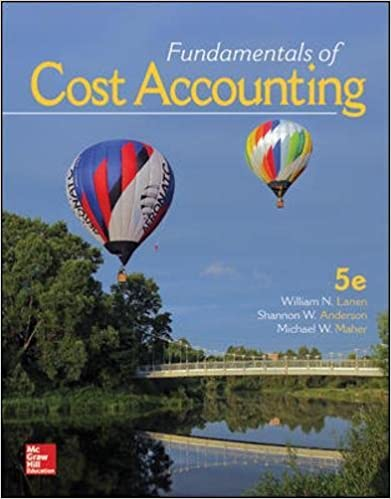 Fundamentals of cost accounting william n lanen professor shannon fundamentals of cost accounting 5th edition fandeluxe Images