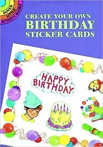 create your own ballet sticker cards dover little activity books