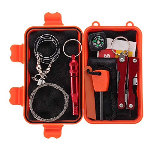 Tanchen SOS Outdoor Survival First Aid Hiking Kit Camping Rescue Gear Emergency