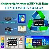 IPTV Subscription HTV HTV3 HTV5 A1 A2 Brazil Box A2 IPTVKINGS IPTV5+ IPTV6 IPTV6+ Tigre Tiger Brazilian One 1 Renew Code