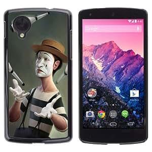 YOYOSHOP [Funny Meme Clown Art] LG Google Nexus 5 Case