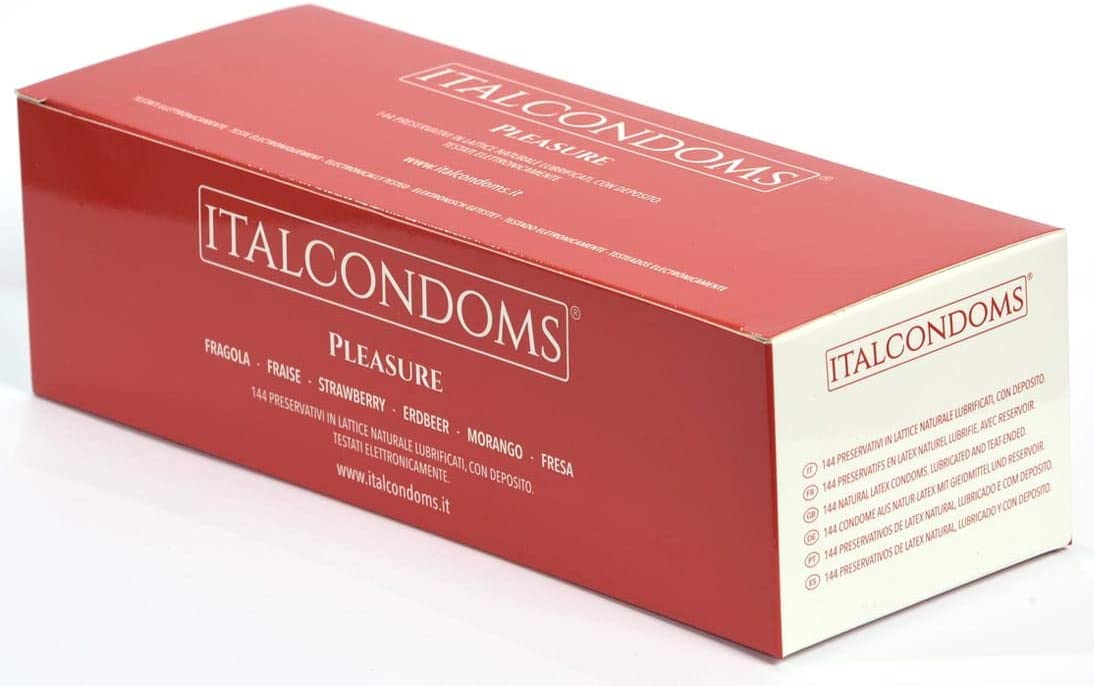 Italcondoms Preservativo Italcondoms Fresa 144 Unidades 410 g: Amazon.es: Salud y cuidado personal