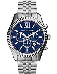 Men's Lexington Silver-Tone Watch MK8280