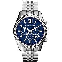 Reloj plateado Michael Kors Lexington MK8280 para hombre