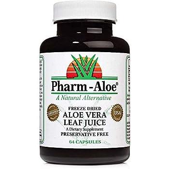 Aloe Vera Capsules - Ranked #1 by ConsumerLab.com
