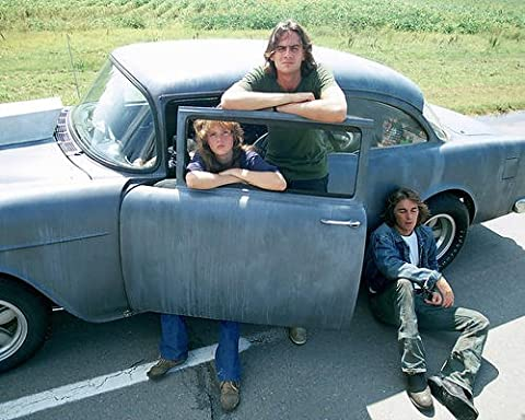 Two-Lane Blacktop James Taylor Laurie Bird Dennis Wilson 1955 Chevy 11x14 Promotional Photograph - Pictures 1955 Chevy