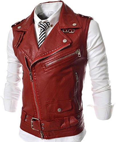 Da Giubbotto Collare Rossa Stile Uomo Giacca Vestibilità Angelspace Laydown Regolare Pilota OO8gx4Zq