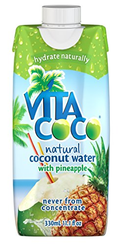 Vita Coco Coconut Water with Tetra Paks - Pineapple - 11.1 oz