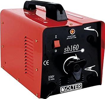Solter 01057 Transformador de soldadura SB 160T 4.3 W, 240 V: Amazon.es: Bricolaje y herramientas