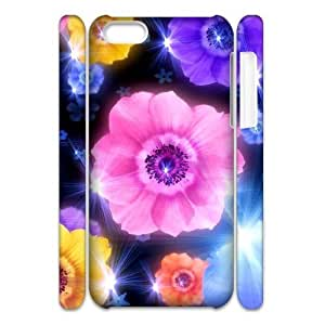 Petals Customized 3D Cover Case for Iphone 5C,custom phone case ygtg516768