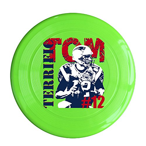 ALOQ #12 Football Player Tom Outdoor Game Frisbee Game Room KellyGreen