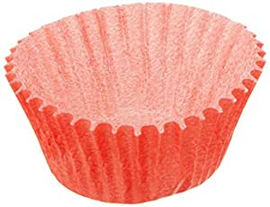 Goldas Kitchen 100 Count Baking Cups, Mini, Red
