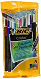 Bic Corporation MSEAP81 0.7 mm. Cristal Xtra Precision Fine Stic Ballpoint Pen, Assorted