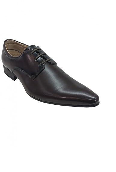 cbd1a82d3c2 Dymastyle chaussure classique homme couleur marron foncé - Marron - P-39