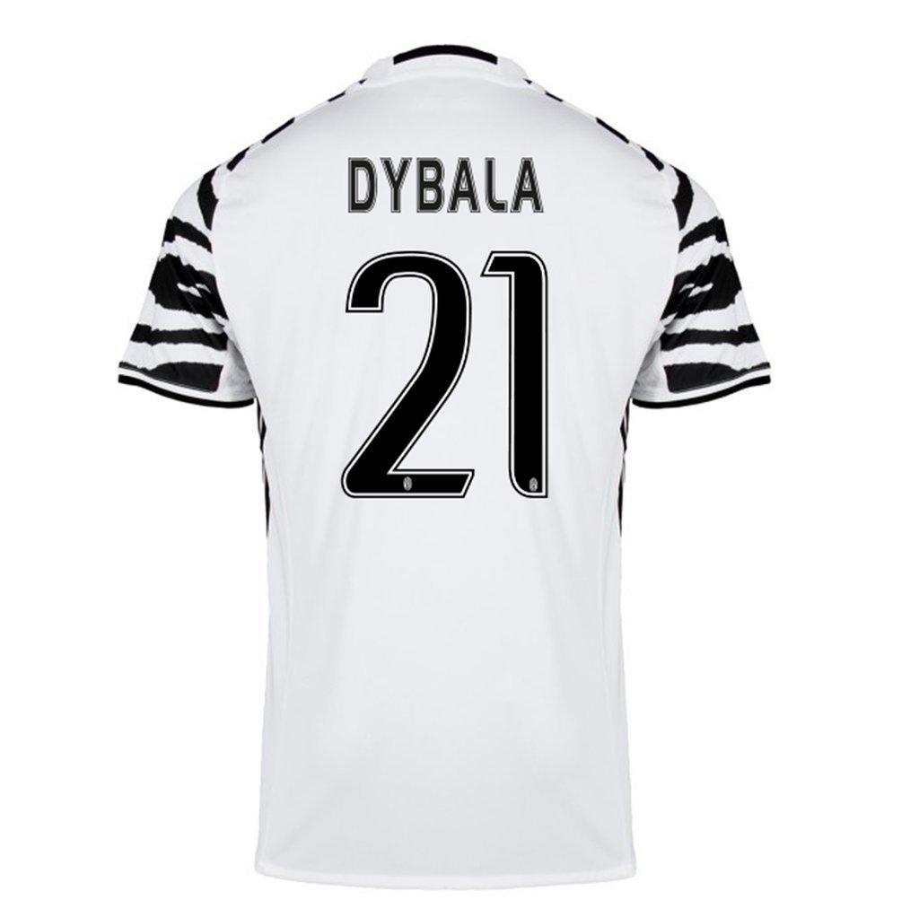 38183886c40 Amazon.com  Juventus FC No.21 Dybala Men s Third Soccer Jersey 16 17 ...
