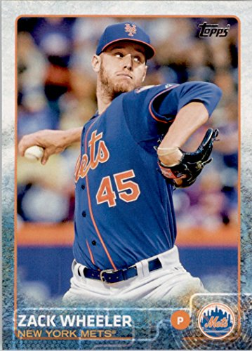 2015 Topps Baseball Card #236 Zack Wheeler NM-MT