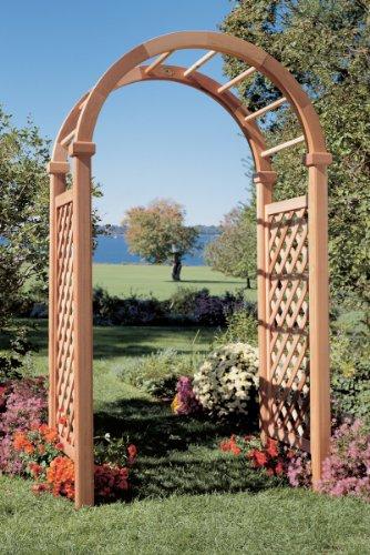 Cedar Arbor Furniture Rustic Trellis (Rustic Natural Cedar 0600605 Arbor, N.E. Deluxe 4-Feet Hd)