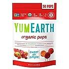 $4.31 天然有机多种口味水果棒棒糖12.3 Ounce 50支