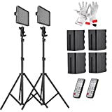 Aputure HR672W CRI 95+ LED Video Light Photo Studio Panel Video LightCamera Studio Lighting kit