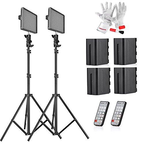 Aputure HR672W CRI 95+ LED Video Light Photo Studio Panel Video LightCamera Studio Lighting kit by Aputure