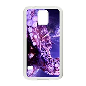 The Beautiful Octopus Hight Quality Plastic Case for Samsung Galaxy S5