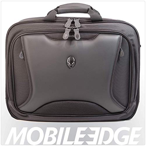 Mobile Edge Alienware Orion ScanFast TSA Checkpoint Friendly 17.3 Inch Laptop Messenger Bag, Large Capacity, Black ME-AWMC2.0