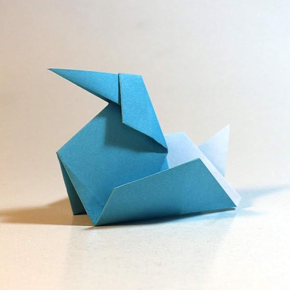 Folded Square Origami - Conjunto de Regalo de Papel para Papiroflexia | 100 Hojas, 15cm Cuadrado | Colección de Colores Clásicos: Amazon.es: Oficina y ...
