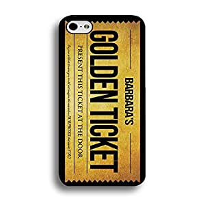 Premium Designs Willy Wonka Phone Case Cover for Iphone 6/6s 4.7 (Inch) Willy Wonka Golden Ticket Chocolate Bar Shell Cover