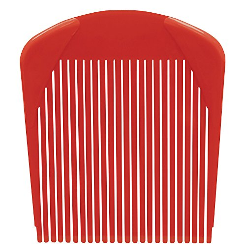 CL-02561 SCALPMASTER FLATTOP COMB - RED ()
