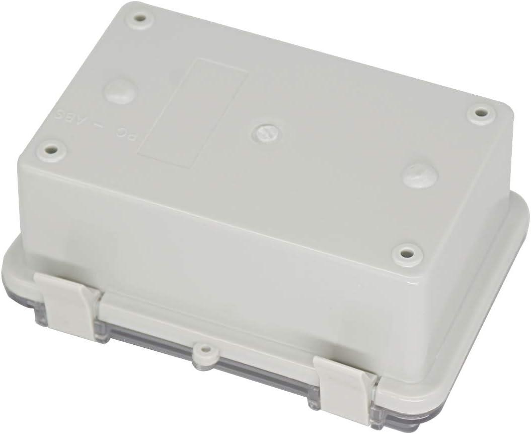 Blanco hogar 21x12.3x7cm Oficina Porta servilletas toallero Europeo Impermeable para Toallas de Papel ENXING Caja de pa/ñuelos Acr/ílico Rectangular