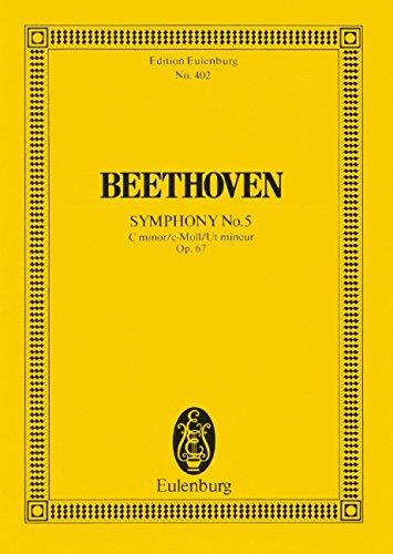 Symphony No. 5 C Minor: Op 67, Study Score